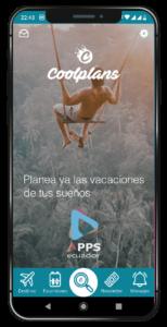 desarrollo de aplicaciones móviles agencia de viajes