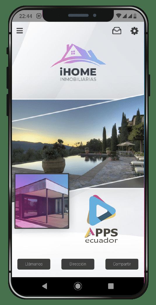 desarrollo de aplicaciones móviles agencia de inmobiliaria