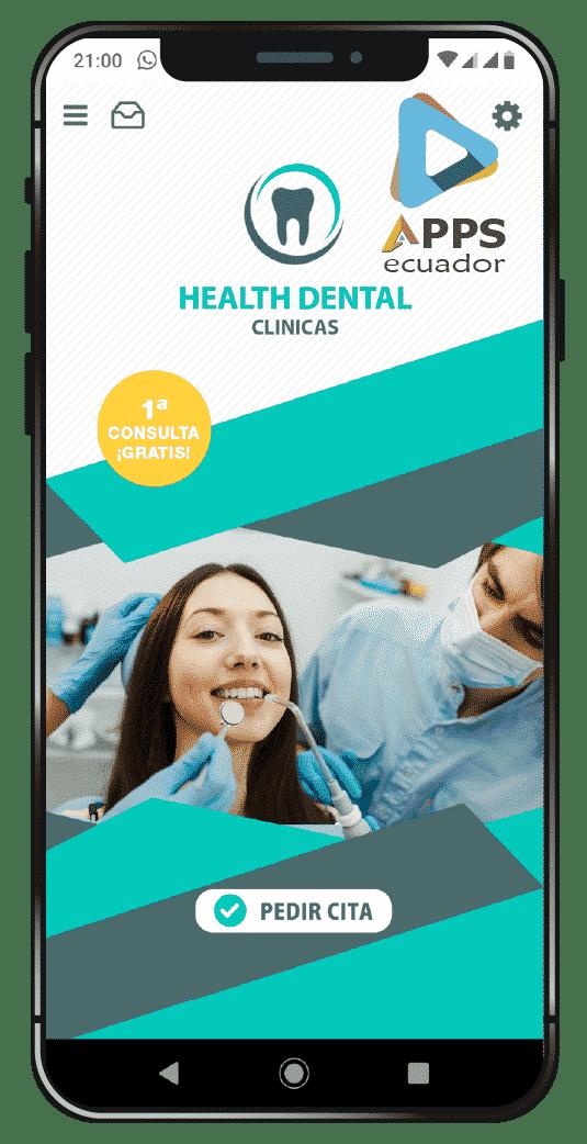 desarrollo de aplicaciones móviles agencia de odontologo
